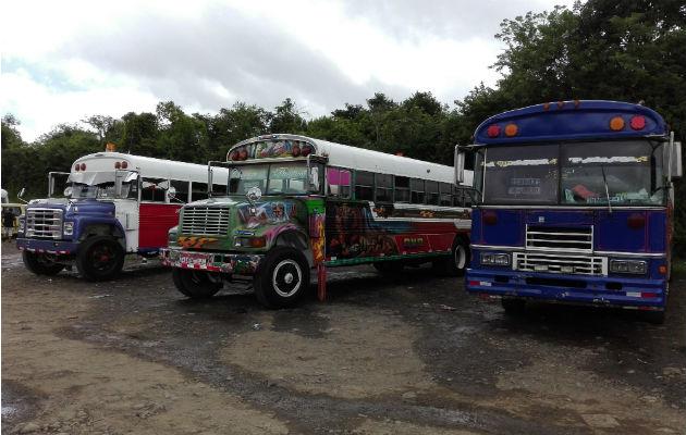 Actualmente las rutas se encuentran dispersas en La Chorrera. Foto: Eric A. Montenegro