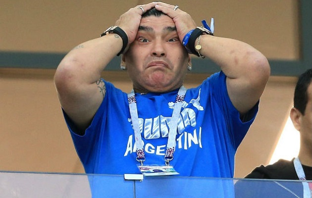 Maradona habló de Panamá.