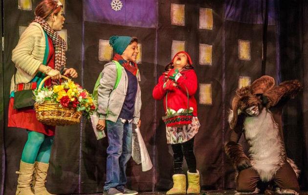 En 'El Elbo de Santa', con su talento los deleitarán en Teatro La Estación. Foto: Cortesía.