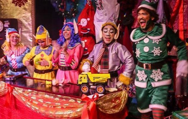 Hoy son las últimas funciones de 'El Elbo de Santa', en el Teatro La Estación. Foto: Cortesía.