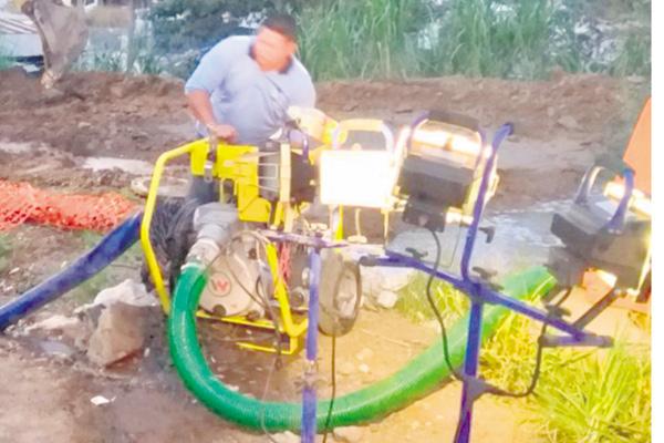 Rotura provoca que la capital se quedara sin agua