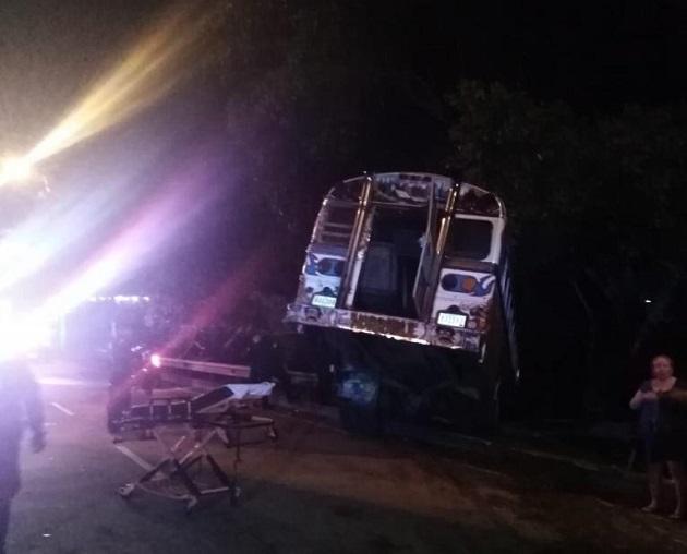 Diablo rojo se sale de la vía y deja un saldo de 11 heridos en El Chorrillo