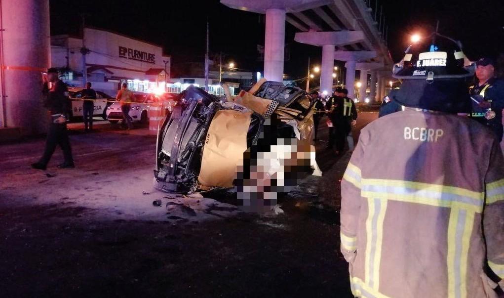 Hubo exceso de velocidad en el fatal accidente de tránsito frente a Los Pueblos