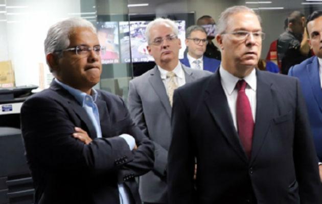 Transición en Alcaldía de Panamá fue suspendida por diferencias entre José Luis Fábrega y José Isabel Blandón