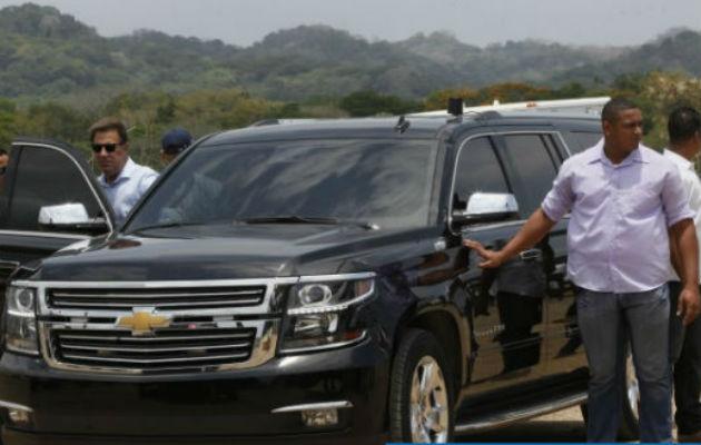 'Juan Carlos Varela se hospedaba en habitaciones de $4,500 y utilizaba limusina negra enorme'