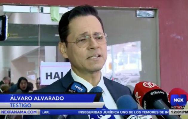 Alfredo Vallarino: Testimonio de Álvaro Alvarado fue responsable, pero no aportó nada a la parte querellante