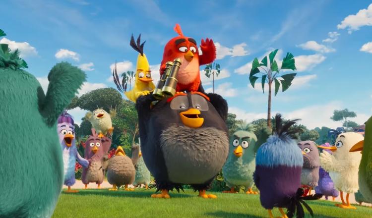 Aventuras de animales en 'Angry Birds 2'
