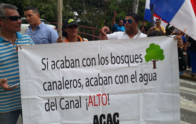 Residentes de áreas revertidas rechazan ampliación de la avenida Omar Torrijos