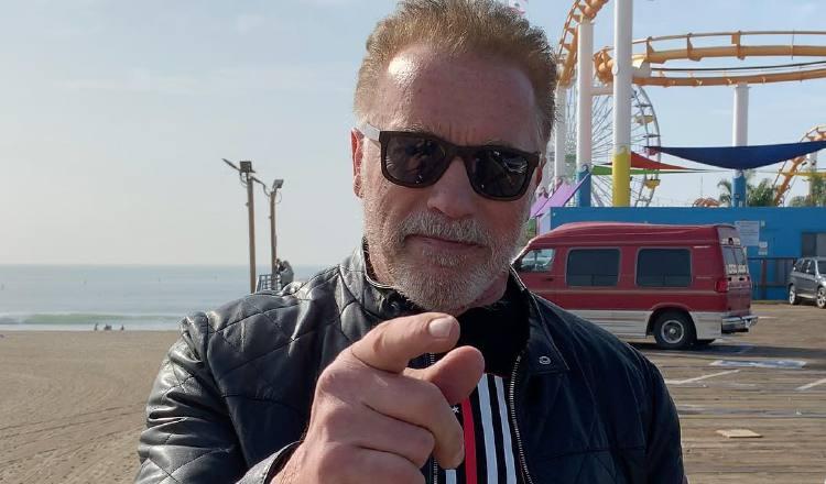Arnold Schwarzenegger. Foto: Instagram