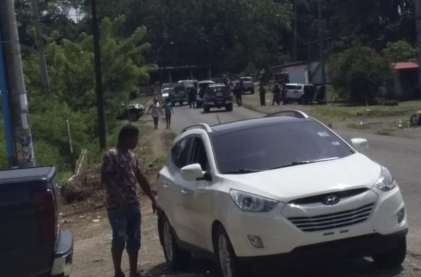 Balacera entre delincuentes provoca caos en Puerto Pilón, Colón