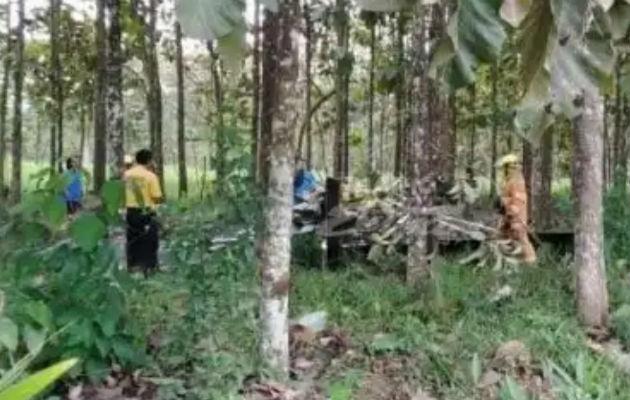 Piloto gravemente herido al caer avioneta cerca de la frontera con Panamá