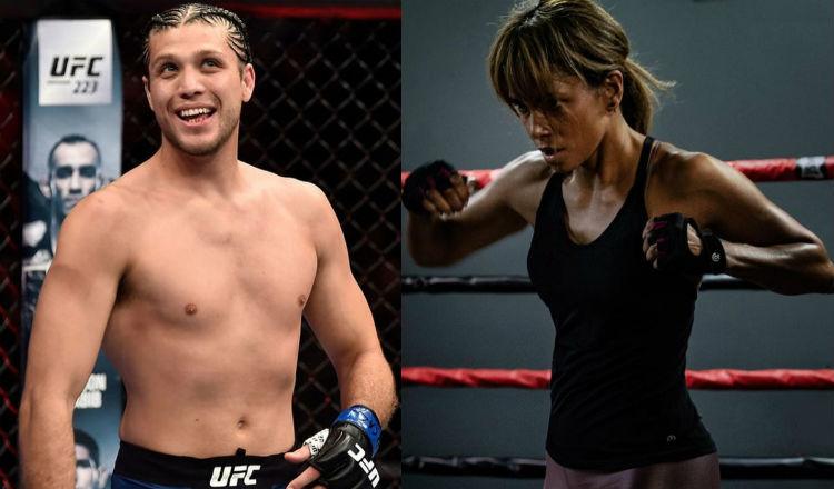 Luchador de la UFC promete ser duro con la actriz Halle Berry