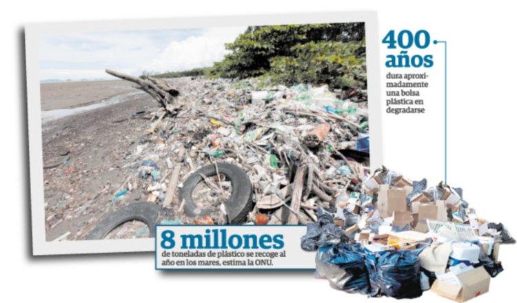 Se inicia conteo regresivo para el fin de bolsas de plástico