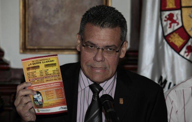 Bosco Vallarino y el empresario Gili Ovadía guardan silencio