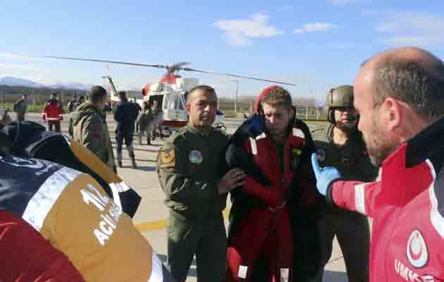Autoridades panameñas investigan naufragio de buque en Turquía que dejó seis muertos