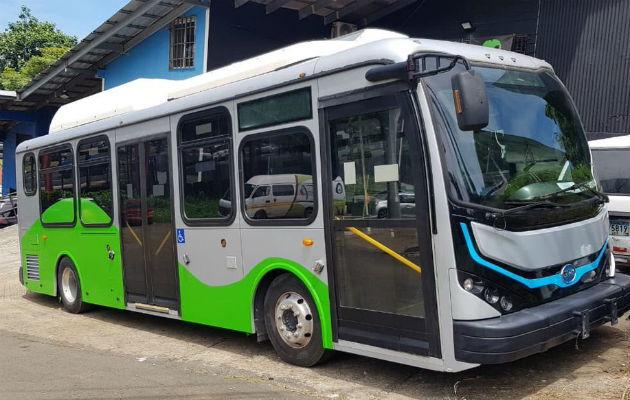 Bus eléctrico estará en la ruta de Los Andes