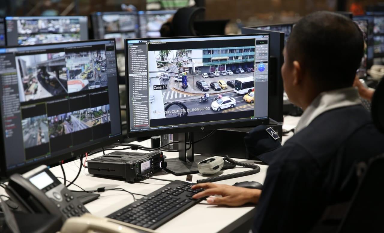 El Centro Nacional de Operaciones de Seguridad y Emergencia C5 está ubicado en las instalaciones de la Policía Nacional, en el corregimiento de Ancón.