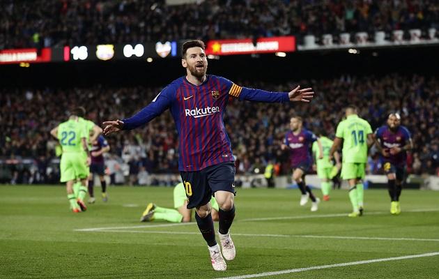 Barcelona conquista de la mano de Messi su Liga número 26