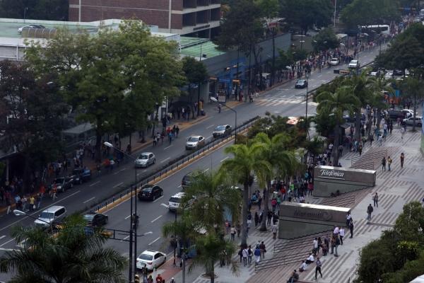 Hace menos de tres semanas en la capital venezolana y la mayoría de los estados del país se registró un apagón general que se extendió por cuatro días. FOTO/EFE