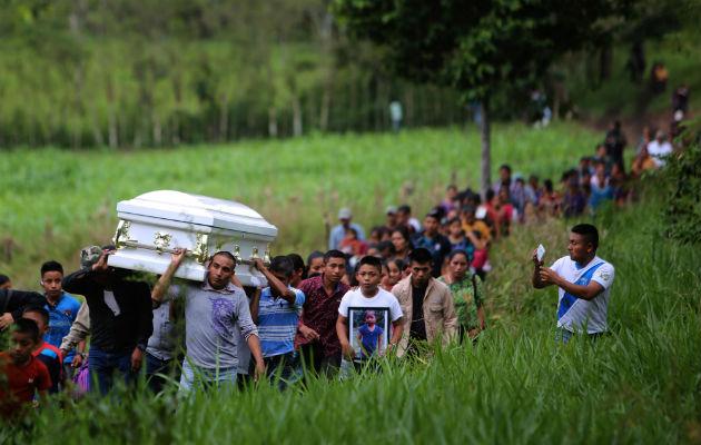 Niños pobres migran de Guatemala evadiendo la muerte y fallecen en tierra ajena