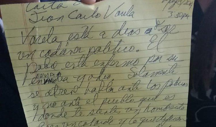 Ricardo Martinelli llama 'cobarde' y 'cadáver político' a Juan Carlos Varela