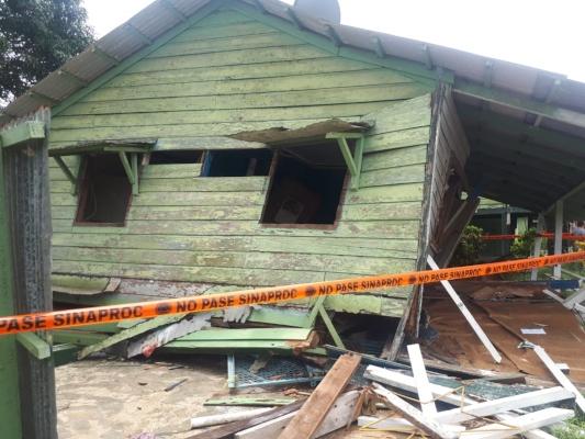 Ante fuerte sismo declaran en riesgo varias zonas en la región del Barú