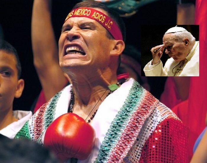 Julio César Chávez consumió cocaína en el baño del papa