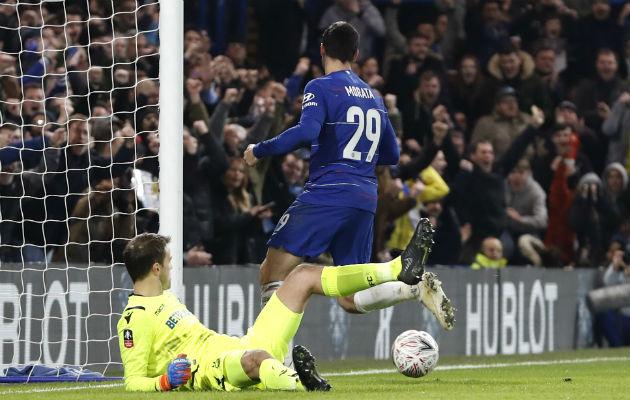 Álvaro Morata clasifica al Chelsea en la 'FA Cup'