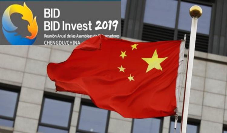 Todo estaba listo para reunión anual del BID en Chengdu. Cortesía