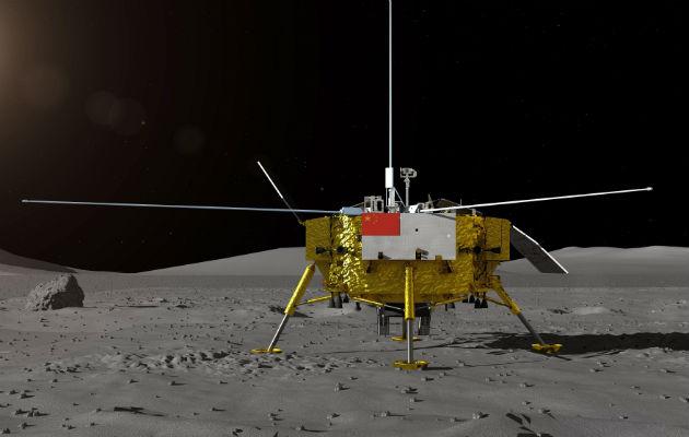 China hace historia al colocar una sonda en la cara oculta de la Luna