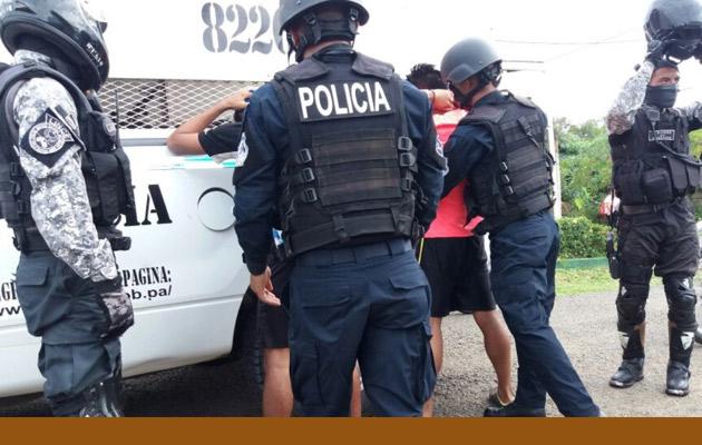 Condenan a dos colombianos y dos panameños por posesión de droga en Alanje