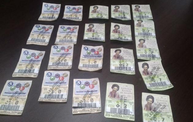 ¡Cuídado! Falsifican billetes y chances de la lotería para cambiarlos en Chiriquí
