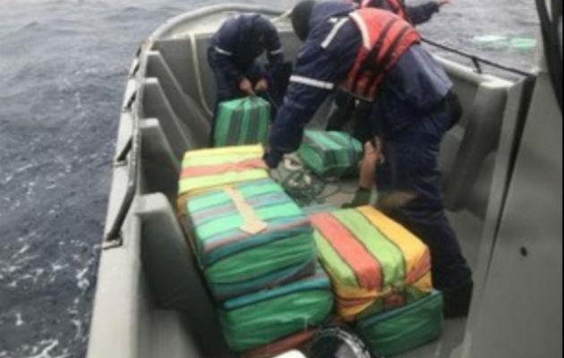 Ubican 990 kilos de droga a bordo de una lancha en la frontera con Panamá