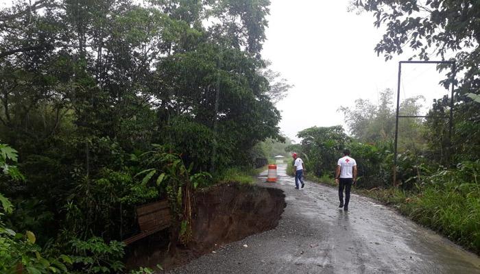 Aumentan las afectaciones por las fuertes lluvias en Barú