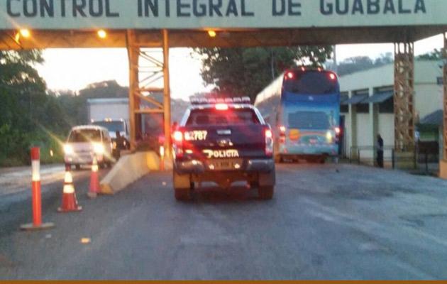 La mujer fue detenida en control de Guábala en la provincia de Chiriquí, Foto/Mayra Madrid