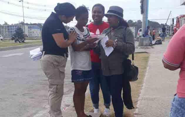 Promueven plan de prevención de delitos entre moradores de Alto de Los Lagos en Colón