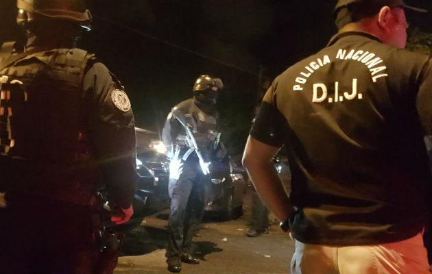 Detienen a 14 personas en operativo anti-pandillas en Alto de Los Lagos
