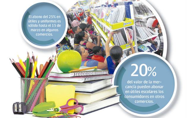 Comercios aplican nuevo método para venta escolar