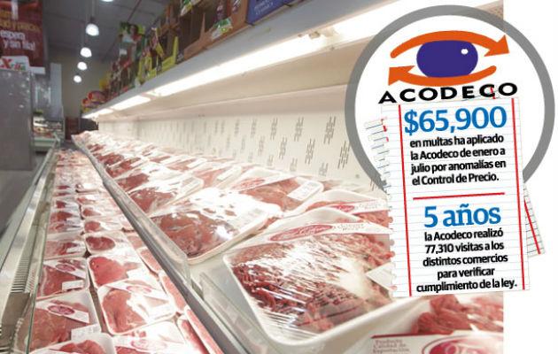 El precio de la canasta básica familiar, según un informe del Ministerio de Economía y Finanzas (MEF), es de 316 dólares al mes.