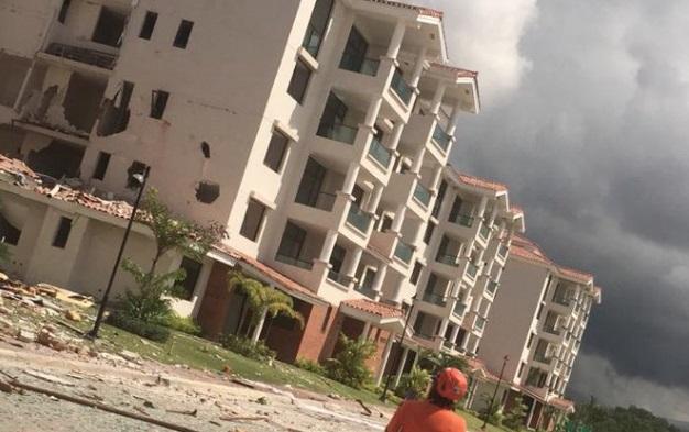 Confirman muerte de niño de 10 meses herido en explosión en edificio de Costa Sur