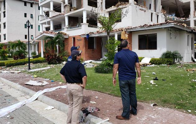 Hallan válvulas abiertas en apartamento donde ocurrió explosión en Costa Sur