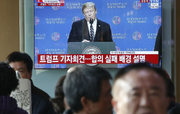 La segunda cumbre entre Trump y Kim termina en fracaso