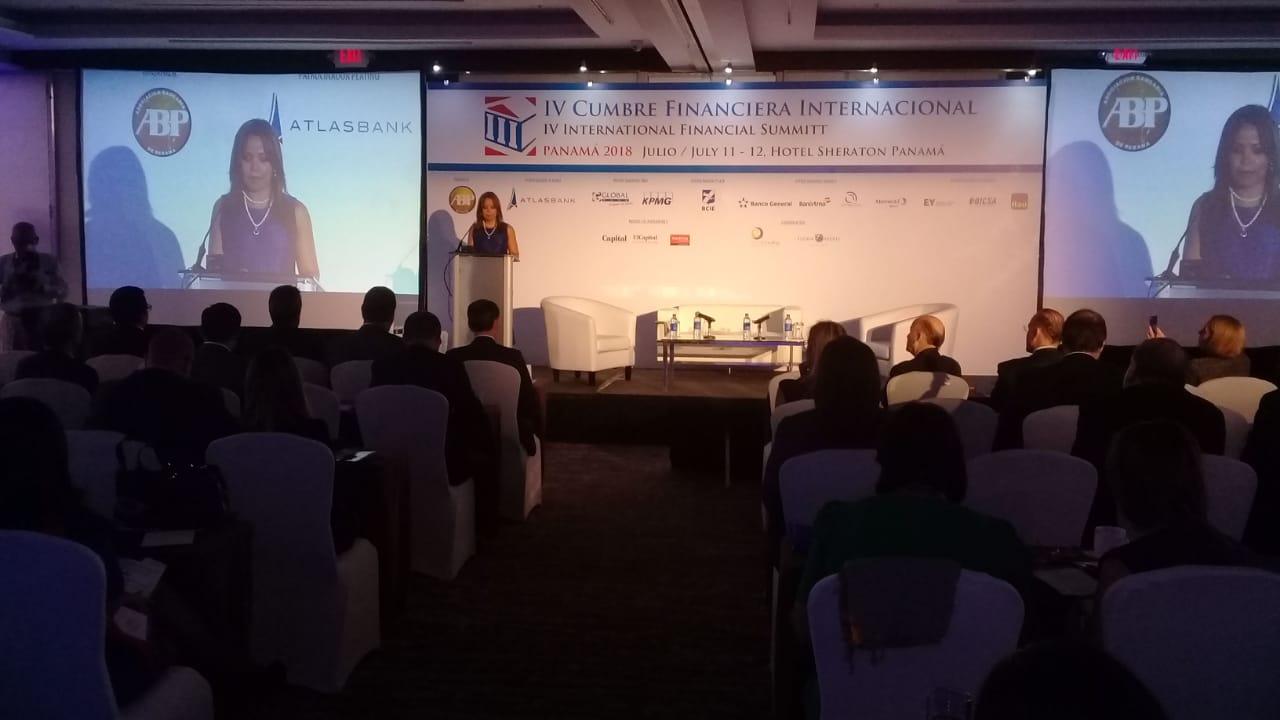 La IV Cumbre Financiera Internacional de Panamá se realiza este 11 y 12 de julio en el hotel Sheraton.