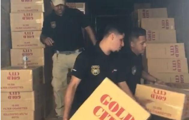 Decomisan 10 millones de unidades de cigarrillos en Paso Canoas