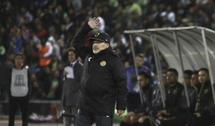 ¿Y Diego Maradona dónde está? Se preguntan los Dorados de Culiacán