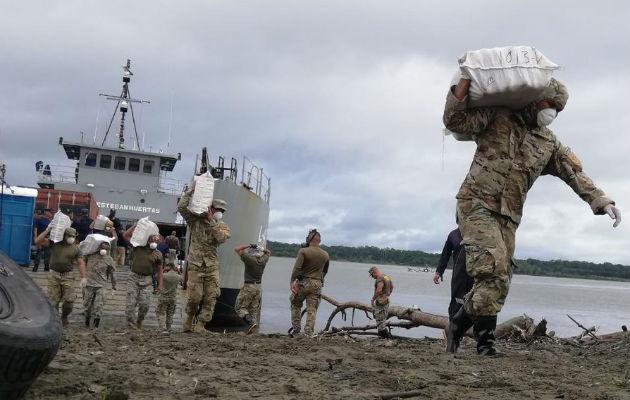 Destruyen 26.2 toneladas de droga que se traficaba en territorio panameño