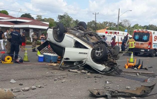 10 heridos y una víctima fatal en Chiriquí. Foto/Redes Sociales