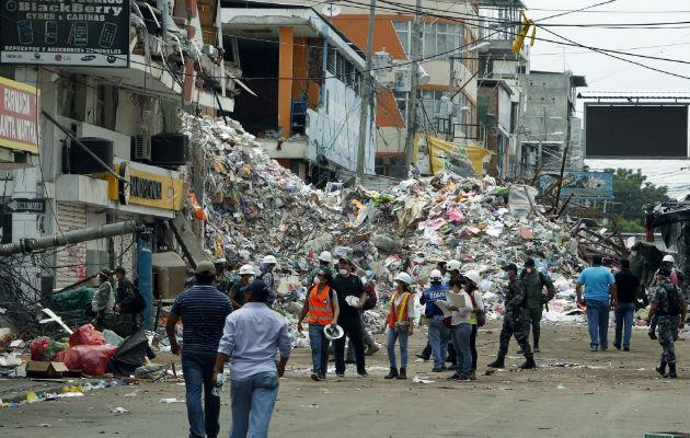 Sismos de magnitudes 7,5 y 6 en la Amazonía de Ecuador