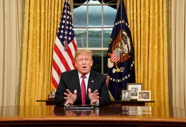 Trump mantiene la declaración de emergencia para el muro