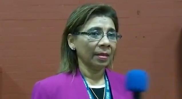 La fiscal Elizabeth Carrión reveló el nombre del testigo protegido.